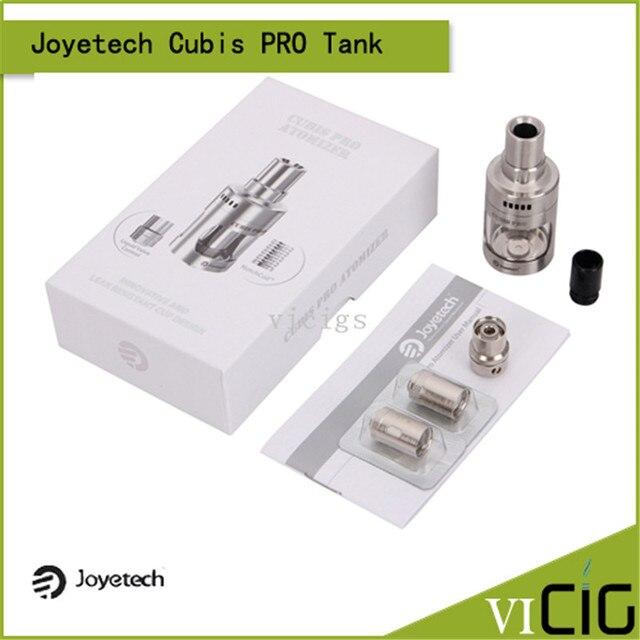 100% Original Joyetech Cubis Pro Atomizer Use Cubis Notch Coil LVC Clapton Coil Subohm Tank Joyetech Cubis Pro Tank