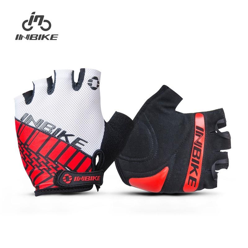 Prix pour INBIKE Hommes de Vélo Gants Demi Doigt De Bicyclette De Vélo VTT Racing Gants GEL Rembourré Ultra-Léger Mitaines IF298