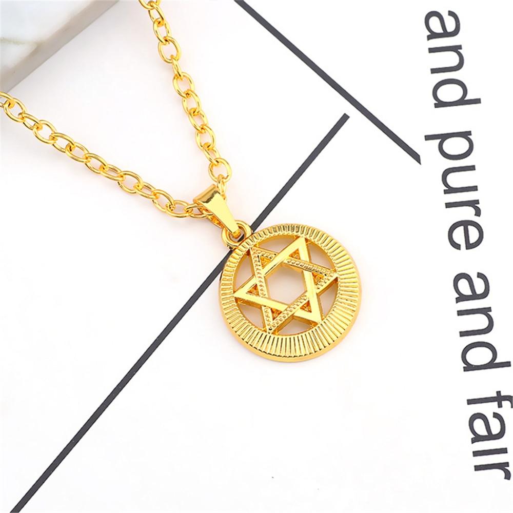 Aliexpress.com   Buy Vintage Punk Hexagram Charms Pendants Triangle Star Of  David Wings Cross Geometric Unisex Sweater Choker Necklaces Women Gift from  ... 53bf104c4747