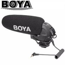 BOYA BY-BM3031 микрофон суперкардиоидный конденсаторный интервью емкостный микрофон камера видео микрофон для Canon Nikon sony DSLR видеокамеры