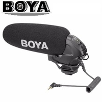 BOYA BY BM3031 Microphone Supercardioid Condenser Interview Capacitive Mic Camera Video Mic for Canon Nikon Sony DSLR Camcorder