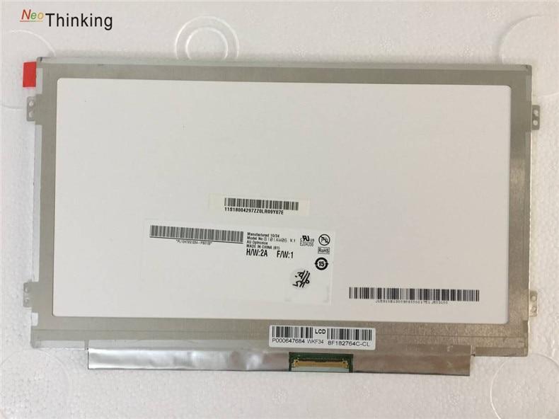 NeoThinking Laptop LCD Screen B101AW06 V.0 V.1 N101L6-L0D for ACER Aspire ONE D270 D271 D260 D257 D255E D257E ZE6 ZE7 ZH9 KAV70 new original auo laptop lcd led screen b101aw06 v 1 n101l6 l0d