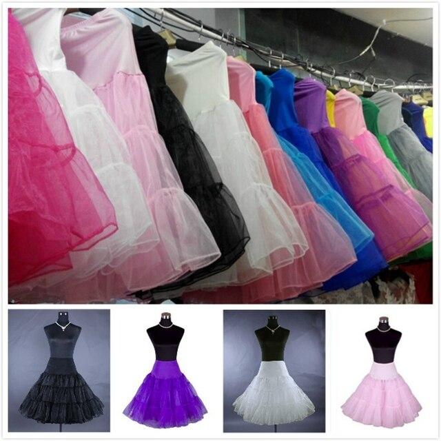 Petticoat Women Underskirt Crinoline Rockabilly Vintage kinds of clours Petticoats  Wedding Bridal Dress Petticoat 34c9a054aad0