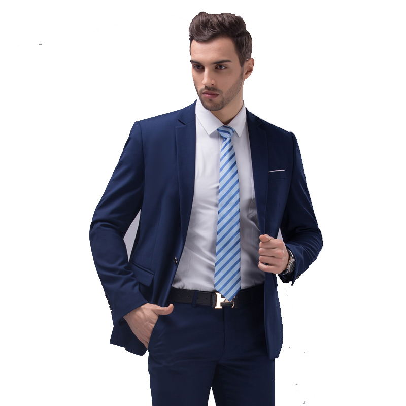 Navy Blue Dress Suit Promotion-Shop for Promotional Navy Blue