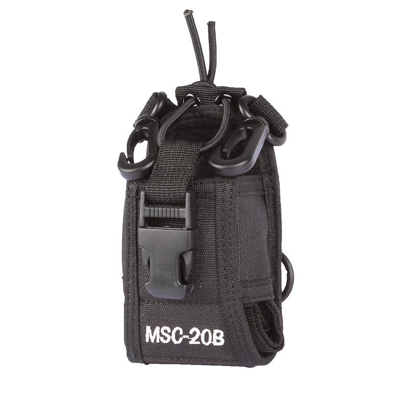 imágenes para Msc-20b multifunción bolsa bolsa de nylon para kenwood motorola baofeng puxing radio de dos vías walkie talkie
