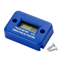 RL HM016 Waterproof Vibration Wireless Hour Meter For Gas Diesel Engine And Electric Motor Lawn Mower