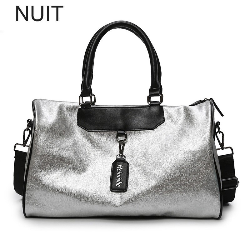 Handbag Tote Messenger Ladies Bags Silver Travel Crossbody Big Female High-Quality Fashion