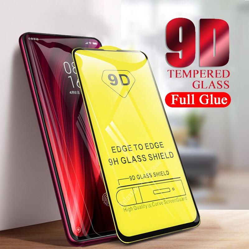 9D Full Glue For Xiaomi Mi 9T Protective Glass Redmi K20 Pro Tempered Glass K 20 K20pro Xiomi 9 t t9 Mi9t 9tpro Glas cover Film(China)
