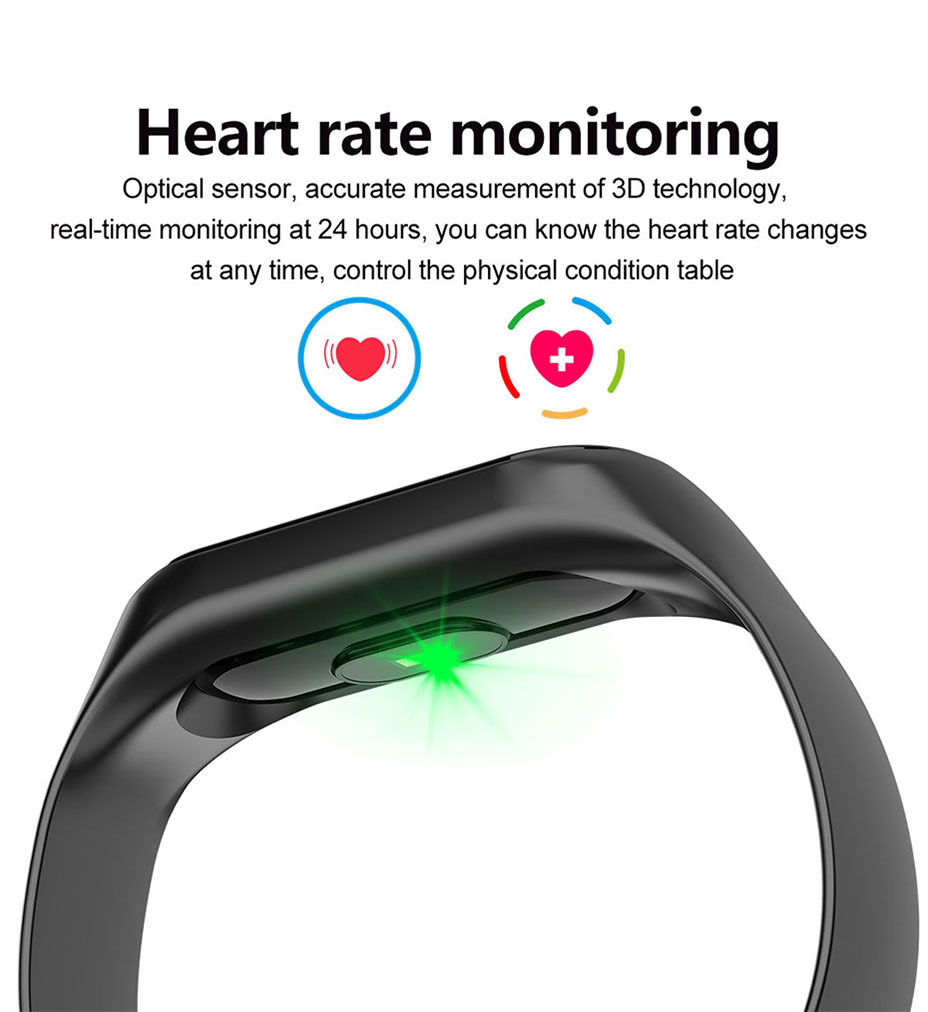 COLMI M3S Smart Bracelet Color-screen Fitness Tracker blood pressure Heart Rate Monitor sleep tracker Wristband For Android IOS 4