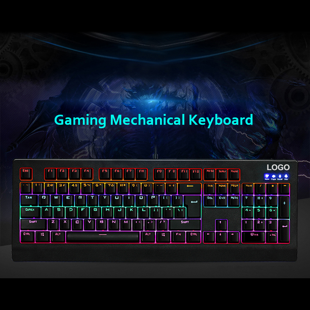 Brand New Wired USB Gaming Mechanical Keyboards