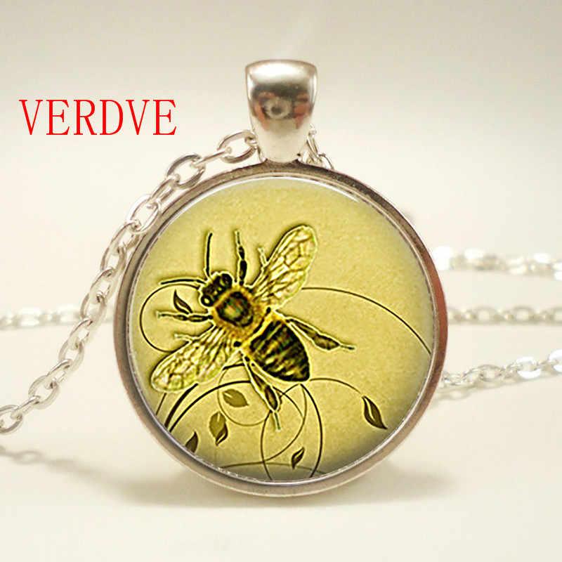 Bee. Ladybug จี้ Ladybug สร้อยคอ Ladybug เครื่องประดับวันเกิด, แก้ว, คริสต์มาส