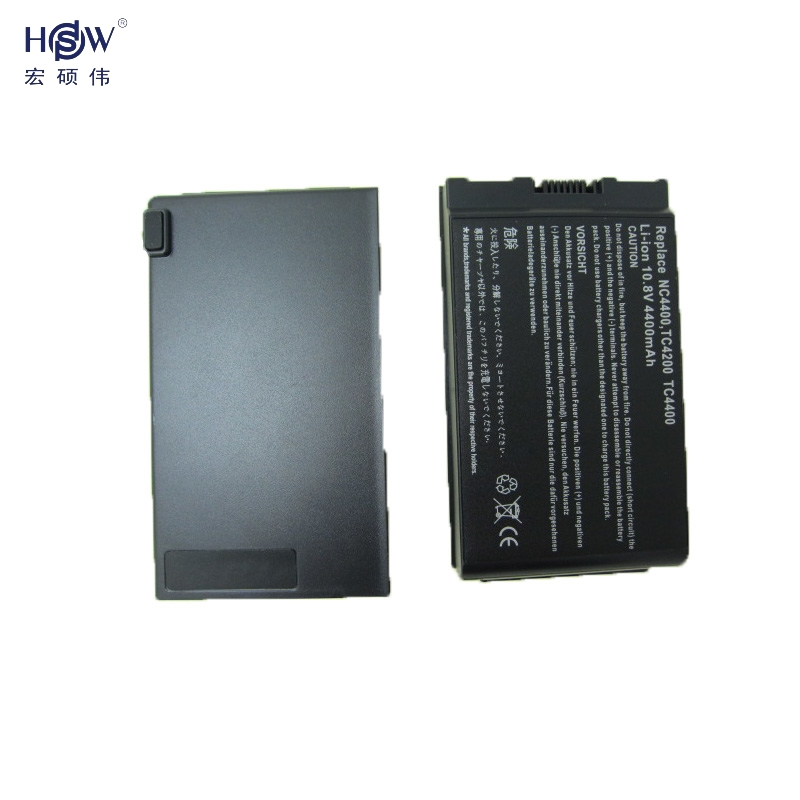 HSW laptop battery forHP Compaq Business Notebook 4200 NC4200 NC4400 TC4200 TC4400 381373-001,383510-001,419111-001 bateria akku ...