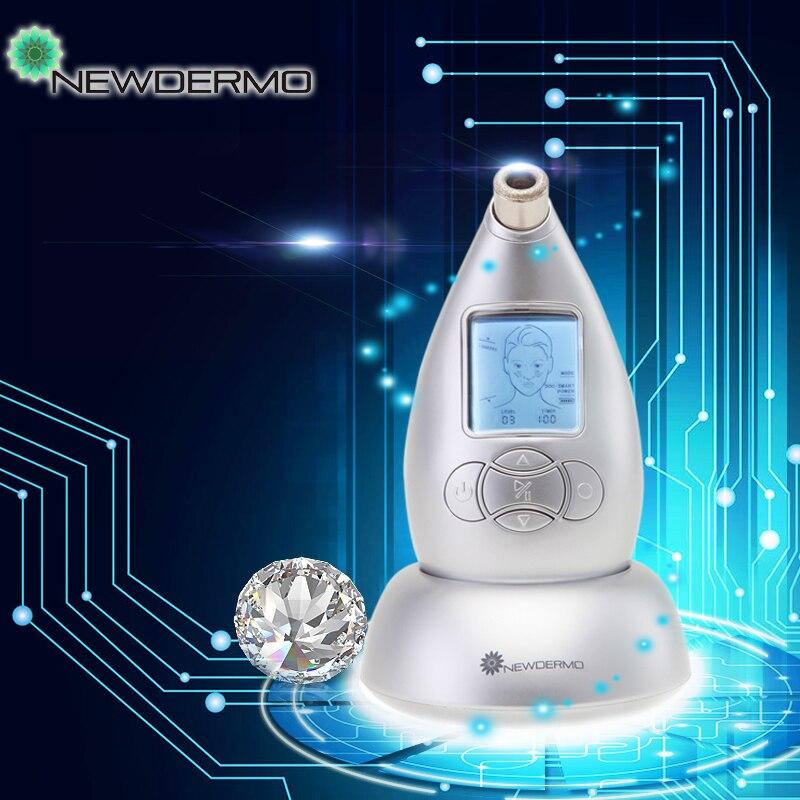 Newdermo Microdermabrasion System Diamond Dermabrasion Machine Beauty Anti Aging newdermo electric face beauty diamond dermabrasion machine blackhead vacuum remover