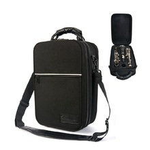 Feel comfortable clarinet box,shakeproof super anti-throw clarinet package,black box shock absorption clarinet backpack