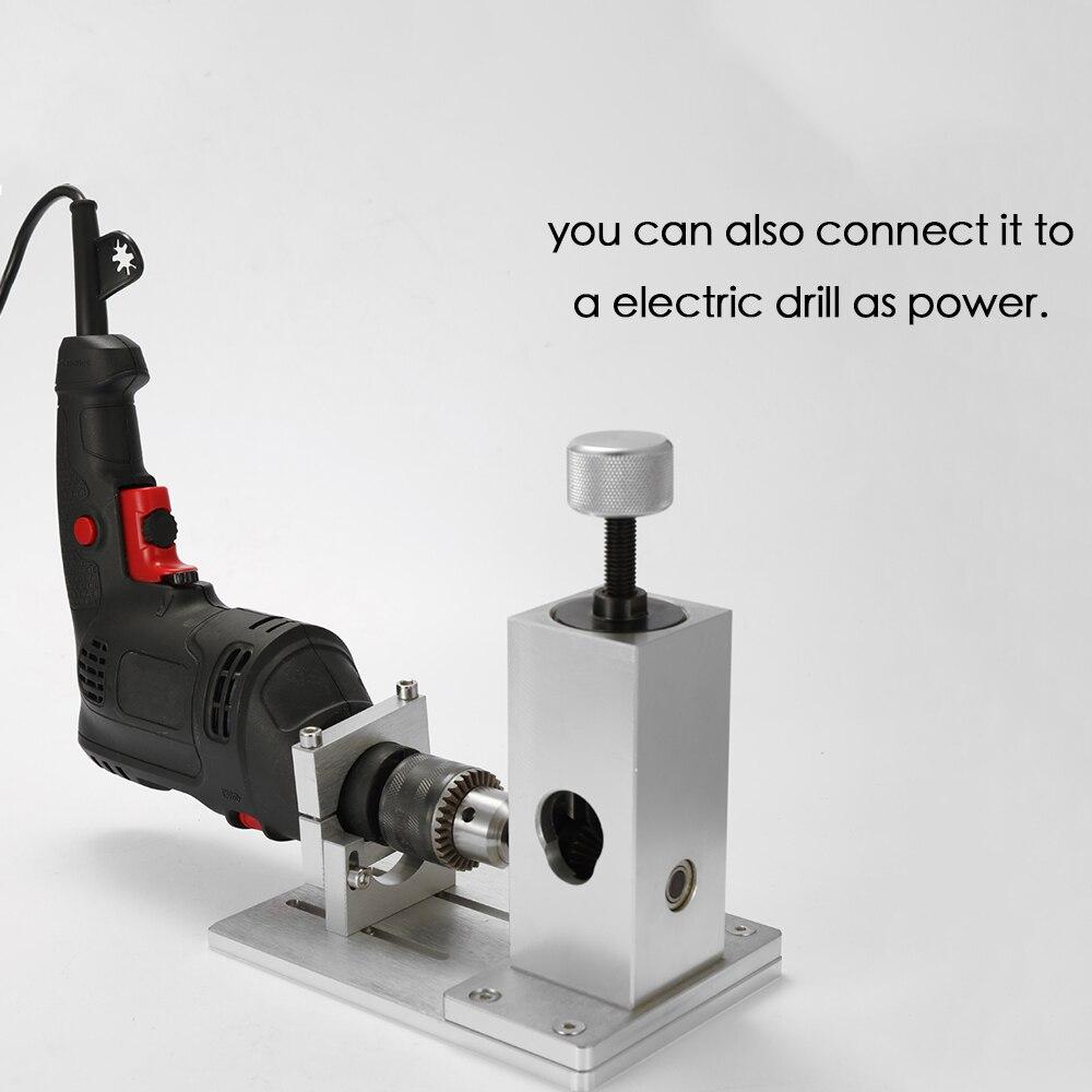 Ferraille Machine à dénuder câble cuivre fil décapant métal recycler fil dénudage outil avec support de perceuse électrique