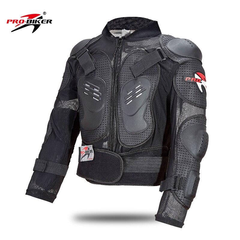 Pro-Biker moto de protection armure équipement de Veste Pleine Body armor tissu Motocross retour protection Moto Vestes