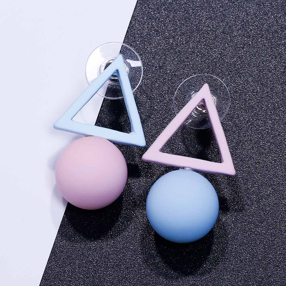 HTB1RRGZQpYqK1RjSZLeq6zXppXai - FAMSHIN Fashion Triangle Different Candy Color Simulated Pearl Earrings For Women New Trend Earrings Jewelry Party Gift