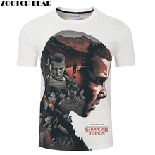 Stranger Things 3D tshirts Men Women t shirt Printed t-shirt
