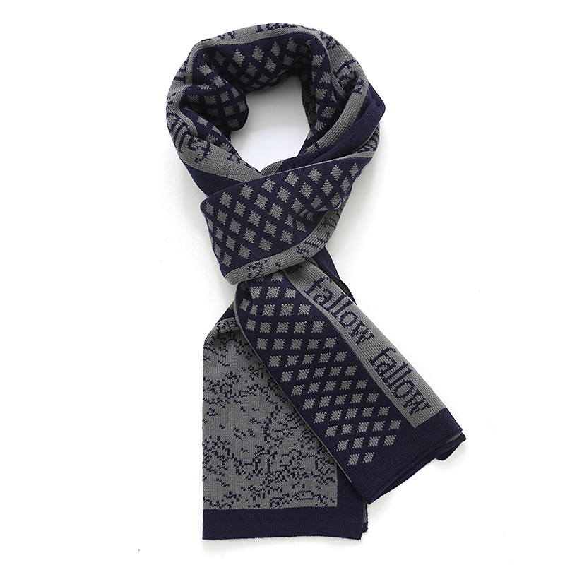 NEW Arrival plaid design Male Scarf Fall Winter Warm Men fashion Casual font b tartan b