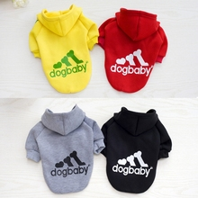 Pet Coats Jackets Dog Clothes For Small Dogs Soft Sweater Clothing Spring Chihuahua Classic Outfits
