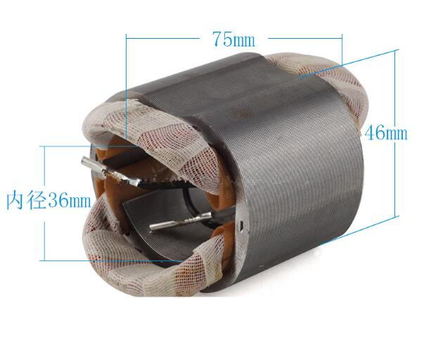 AC220V Stainless Steel Shell 4 Cables Motor Stator for Bosch GWS5-100 6-100 ac220v stainless steel shell 4 cable electric motor stator for hitachi tch 355hb