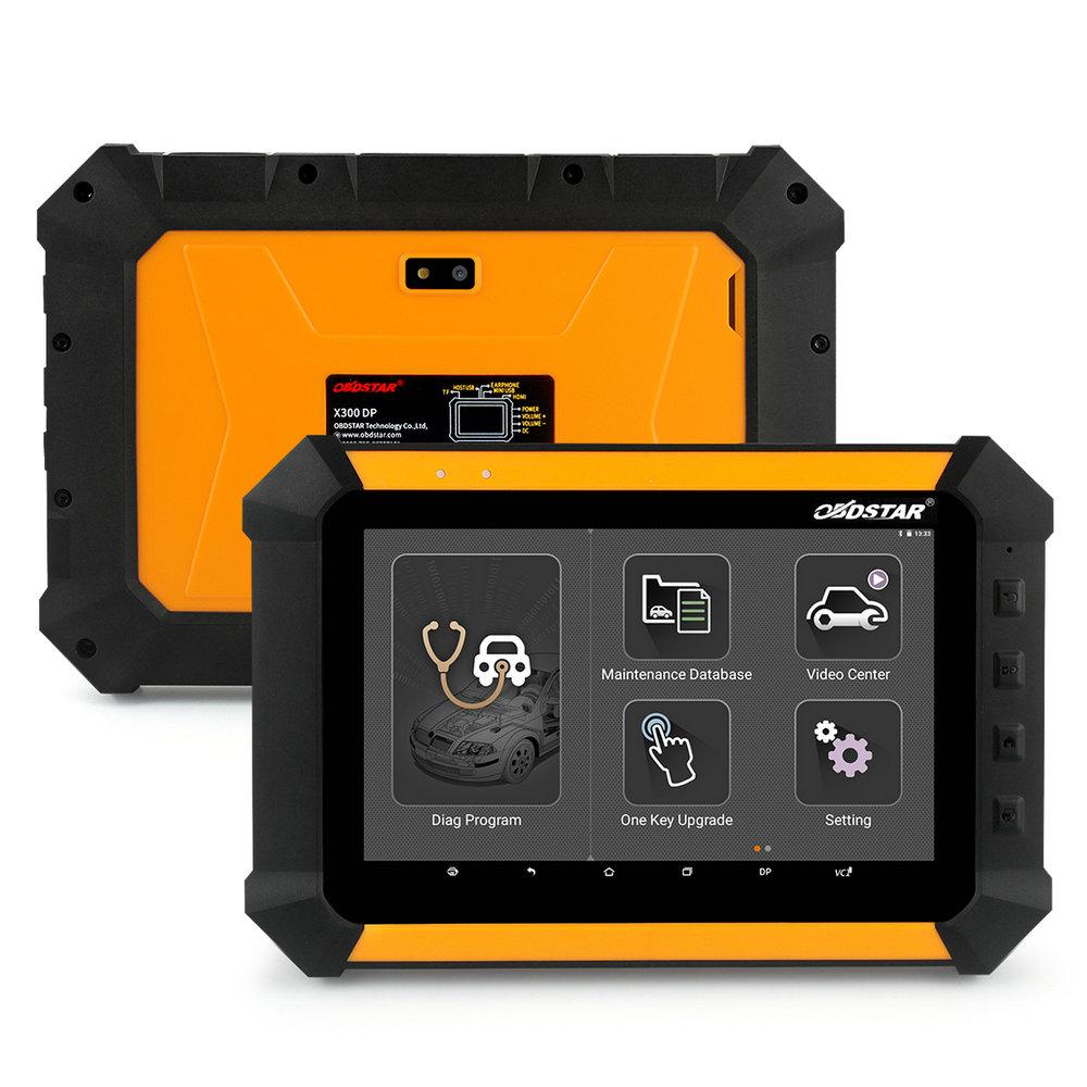 Obdstar x300 dp pad tablet car auto key programmer eeprom adapter immobilizer change mileage odometer obd2 car diagnostic tool