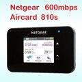 Entsperrt Aircard 810 s cat11 600 mbps 4g router mit sim karte slot wi-fi 4g lte router im freien mifi tasche netgear ac810s ac810