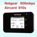 Unlocked Aircard 810 s cat11 600 mbps 4g router met sim-kaart slot wifi 4g lte router outdoor mifi pocket netgear ac810s ac810