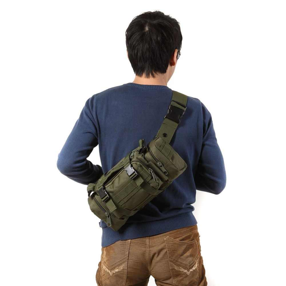 3L Military Tactical Shoulder Waist Pack Molle Outdoor Camping Hiking Pouch Bags