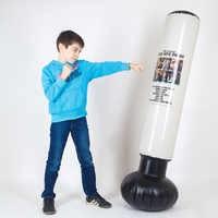 Beste Verkauf Aufblasbare Boxsack für kinder Sport einzelteile boxen birne taekwondo karate muay thai Kinder Geschenk 000-200