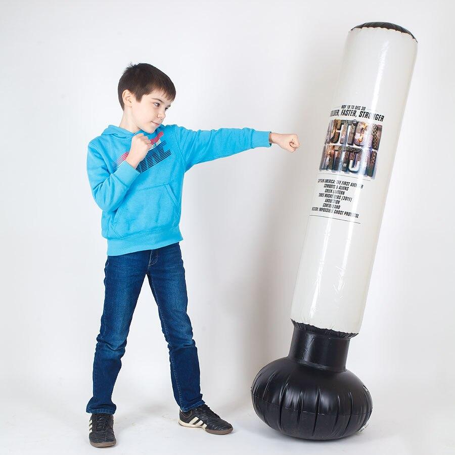 Meilleur Vente Gonflable Sac de Boxe pour enfants articles de Sport boxe poire taekwondo karaté muay thai Enfants Cadeau 000-200