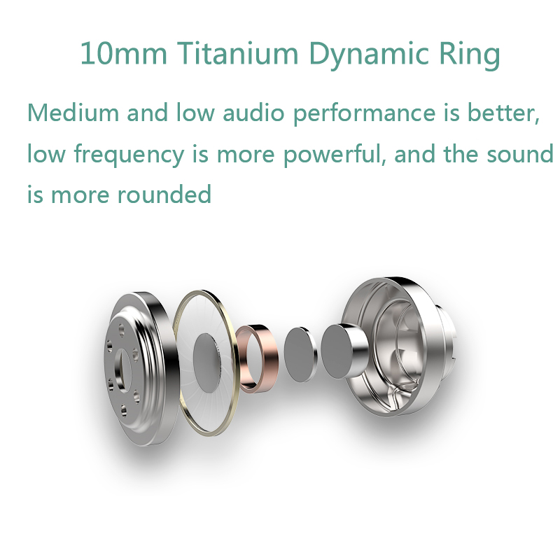UiiSii HM13 In-Ear Dynamic Earphones 2