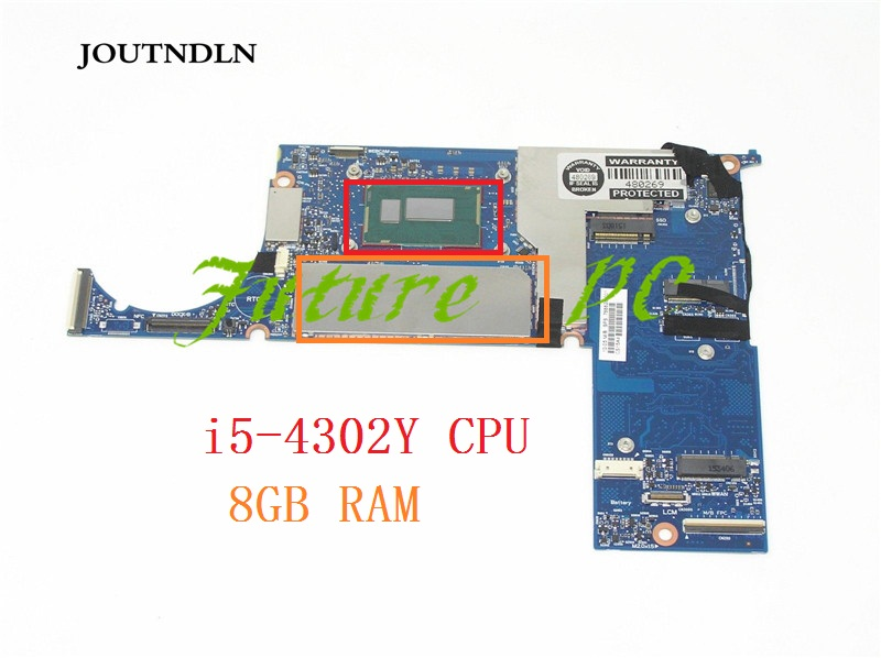 HP 612 Tablet Motherboard 8GB Intel i5-4302Y 1.6Ghz CPU 6050A2627701-MB-A02