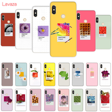 цена на Lavaza Pantone Candy Color Fruit Hard Case for Huawei Mate 10 20 P9 P10 P20 Lite Pro P smart 2019 for Honor 8X 8C Cover