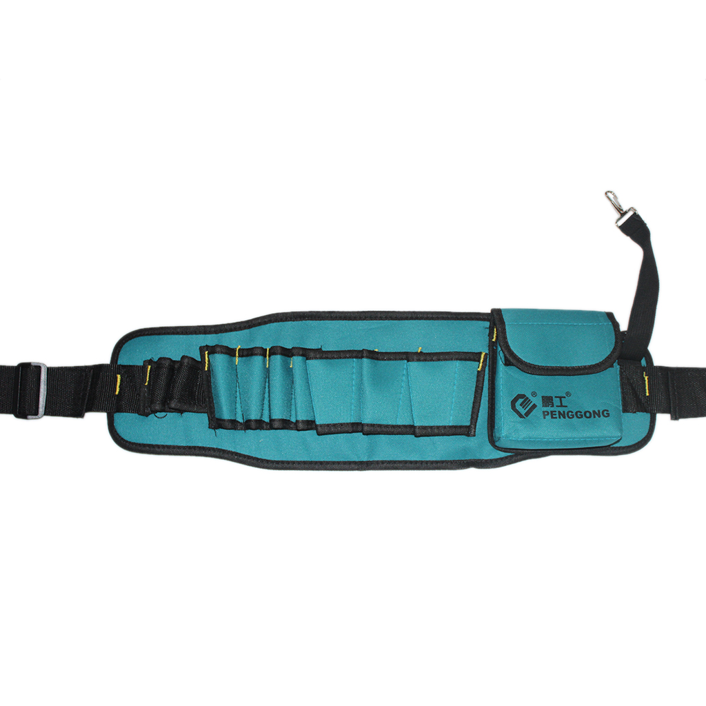 Hardware Toolkit Mechanics Waist Tool Bags Waterproof Oxford Cloth Multi Organize Pockets Storage Pouch Electrician Accessory