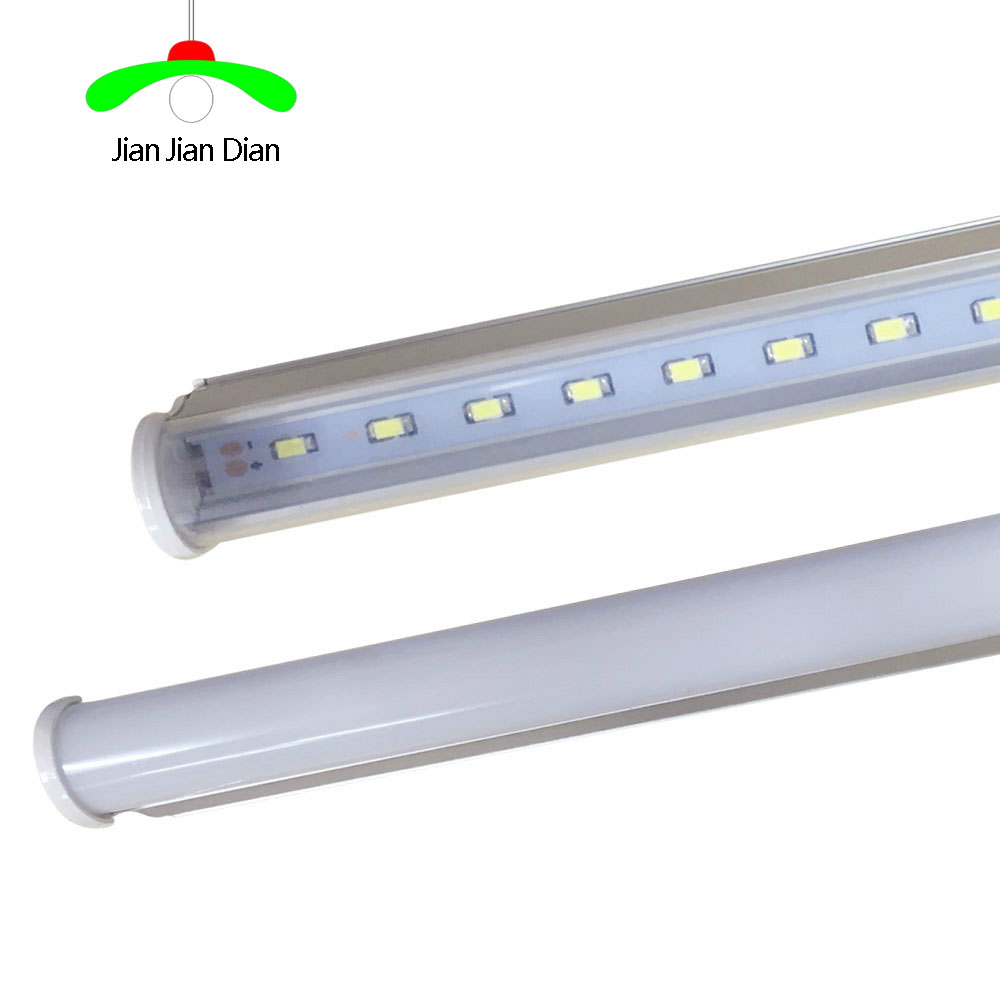 LED Tube T5 Light 30cm 6w 60cm 10w 110-240V LED Fluorescent Tube T5 Wall Lamps warm/white T5 Bulb Light clear /milky cover 2pcs set t5 led light tube ac85 265v 2 5w wall lamps 1ft led t5 tube fluorescent lamp lights connect cord power switch cable