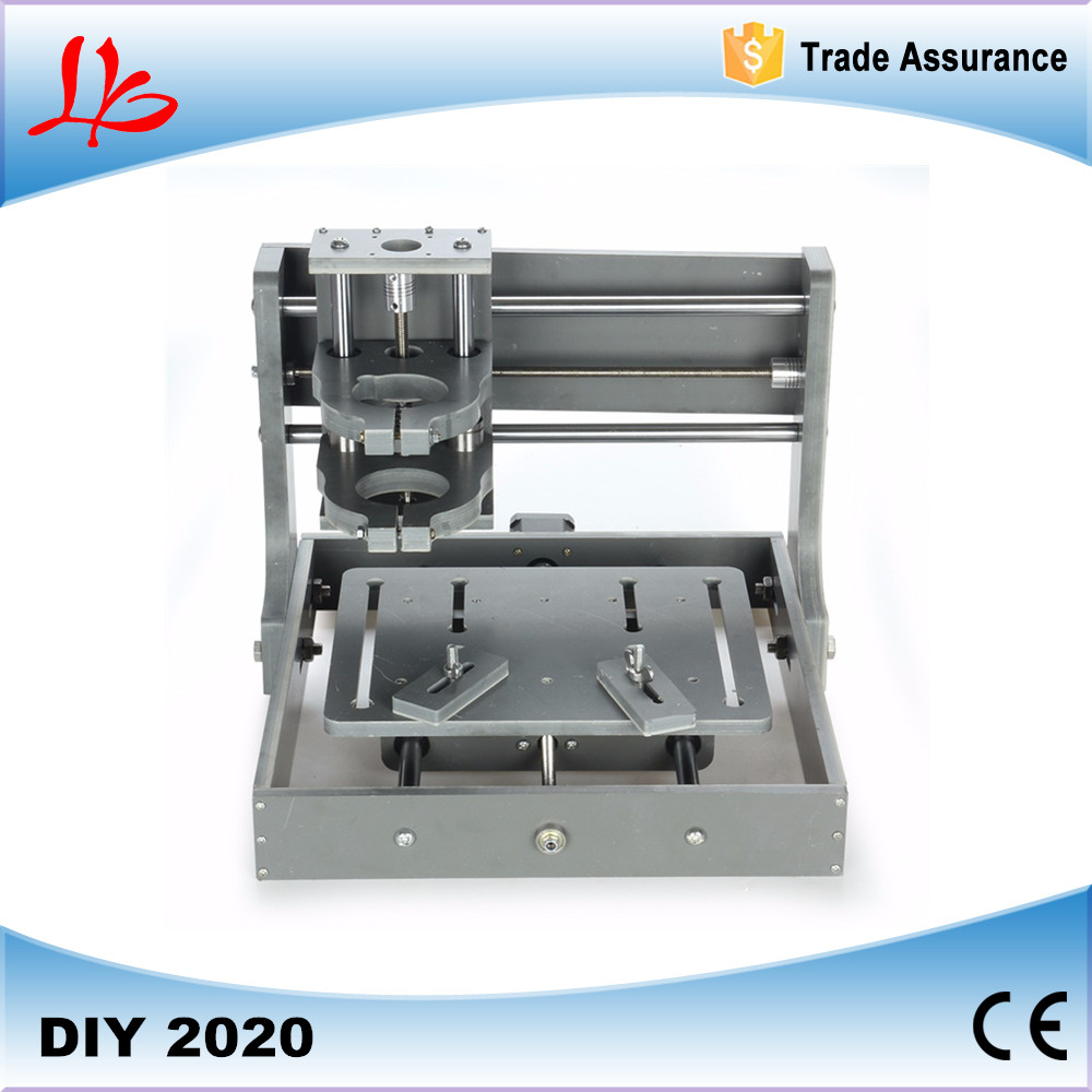 DIY CNC machine 2020 Frame without motor mini CNC router cnc 1610 with er11 diy cnc engraving machine mini pcb milling machine wood carving machine cnc router cnc1610 best toys gifts