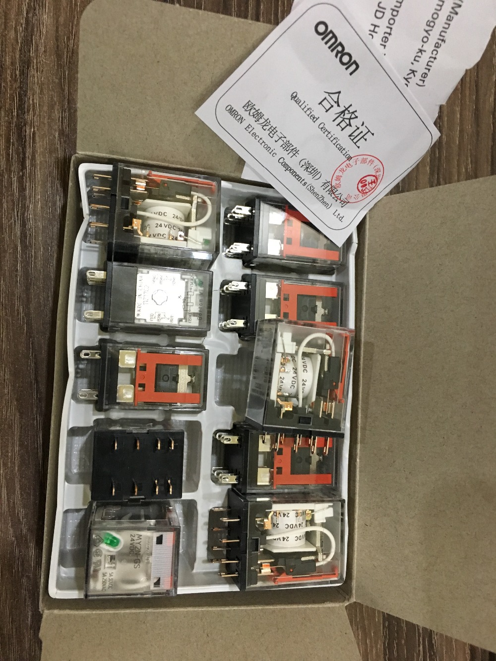 Genuine New original Relays Omron MY2N-GS DC24V DC12V AC220V New (instead of MY2N-J) amh qfn8 aaq adc max8792e qfn12