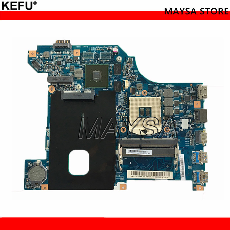 LG4858 MB 11252-1 For Lenovo G580 Laptop motherboard 48.4SG01.011 with N13M-GE-B-A2 GPU Onboard DDR3 fully tested n13m ns s a2 n13m gs s a2 n13m ge s a2 n13m gv s a2 n14m gl s a2 stencil