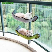 14Pcs/Set Cat Hammock Bed Mount Window Pod Lounger Suction Cups Warm Bed For Pet Cat Rest House Sun Wall Bed Soft Ferret Cage(China)