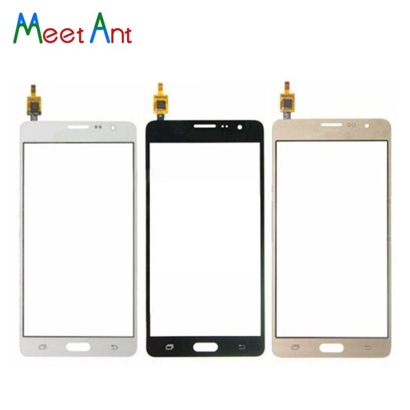 Pour Samsung Galaxy On5 G5500 G550 5.0 et On7 G6000 SM-G6000 5.5 Écran Tactile Digitizer Capteur En Verre Extra-Atmosphérique lentille Panneau