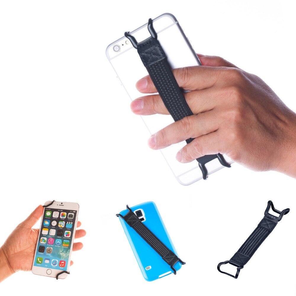 imágenes para Tfy seguridad correa de mano soporte para iphone 7/7 plus/6/6 s plus samsung s6 edge plus y kindle Smartphones