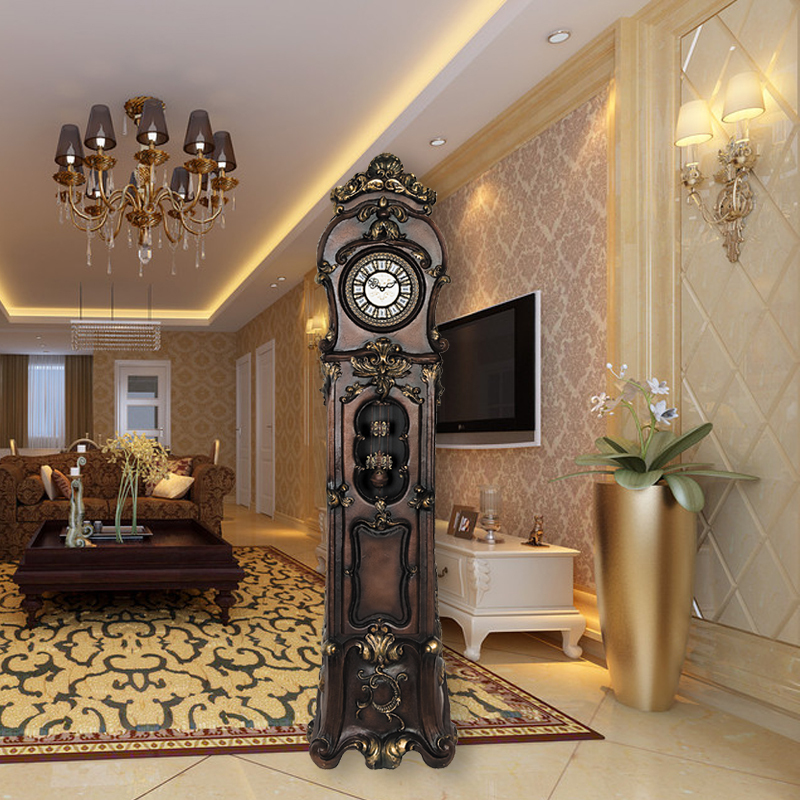 Grandfather Clock Living Room European Style Music Stand Bell Chime Clocks Creative Rbi On Aliexpress Alibaba Group