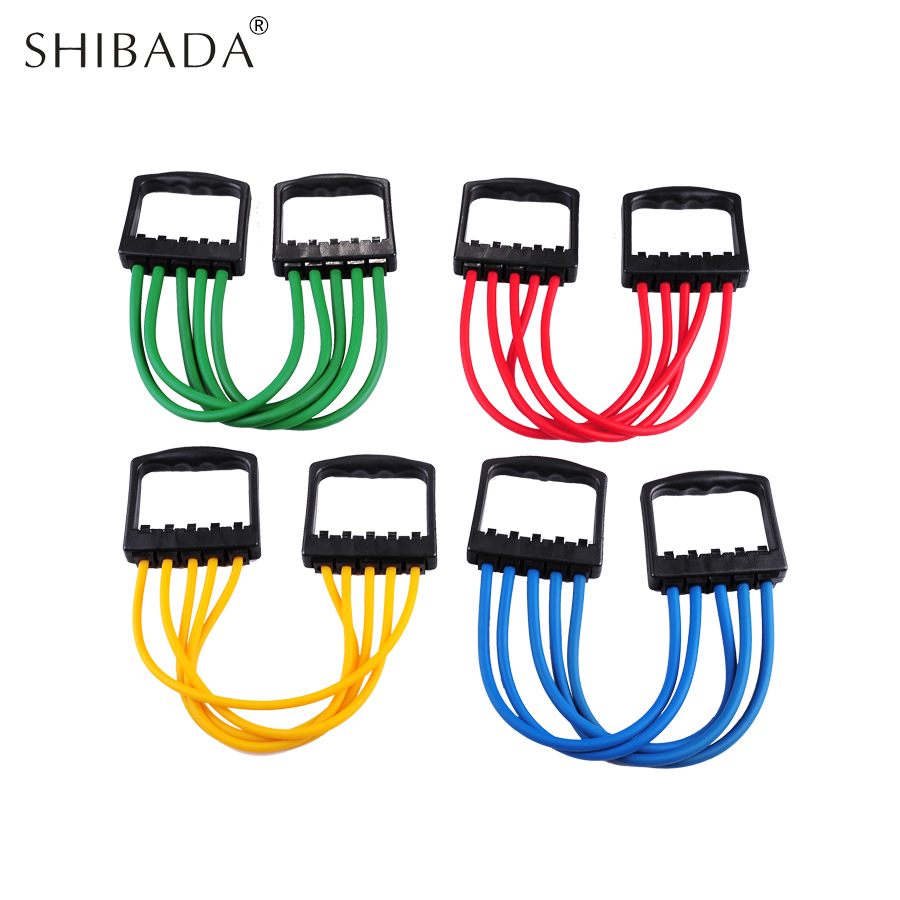 SHIBADA Resistance Bands Fitness Equipment Pull Rope Crossfit ...
