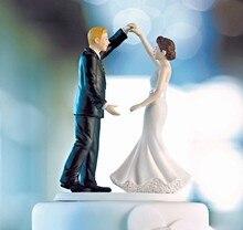 Dancing the Night Away Wedding Couple Couple Figurine wedding cake topper bride and groom cake decoration