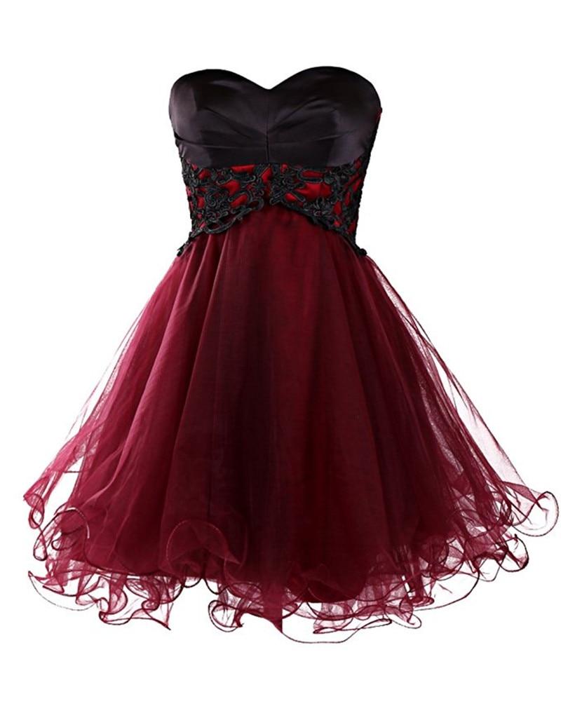 Cheap Burgundy Prom Dress