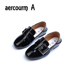 Aercourm a 2017 spring new children shoes single leather shoes girls red soft bottom dance shoes.jpg 250x250
