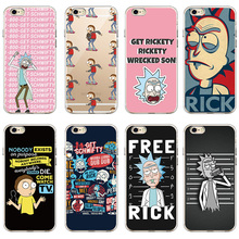 Rick And Morty Soft Clear Phone Case Cover For iPhone And Samsung Cellphone Mobile Phone
