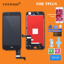 YWEWBJH Parts 1Pcs/lot AAA  For iphone 7 LCD For iPhone 7 Plus LCD digitizer Assembly with 3D touch Replacement screen все цены