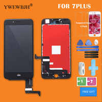 YWEWBJH Parts 1Pcs/lot AAA For iphone 7 LCD For iPhone 7 Plus LCD digitizer Assembly with 3D touch Replacement screen